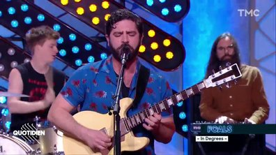 "Foals : ""In degrees"" en live pour Quotidien"