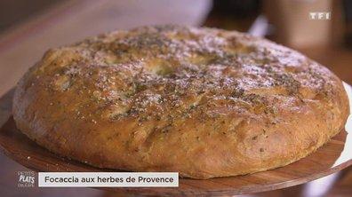 Focaccia aux herbes de Provence