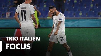 Turquie - Italie : Voir le match du trio d'attaque italien en vidéo