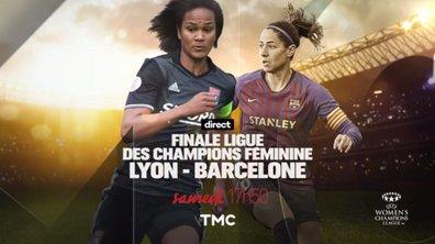 Finale Ligue des champions : Lyon - FC Barcelone sur TMC !
