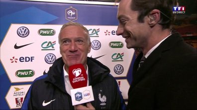 """Pays-Bas 0 - 1 France - Deschamps : """"C'est une victoire importante et méritée"""""""