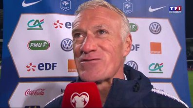 "Moldavie - France (1 - 4) Deschamps : ""On aurait pu mettre plus de buts"""