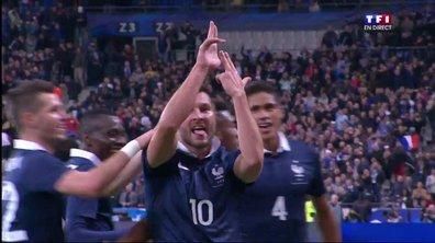 France 2 - 0 Allemagne : le but de Gignac