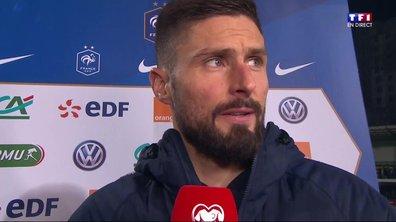 """Moldavie - France (1 - 4) Giroud : """"Ca fait plaisir de rejoindre Trezeguet"""""""