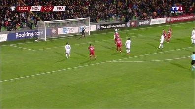 Moldavie - France (0 - 1) : Voir le magnifique but de Griezmann en vidéo