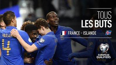 France - Islande : Voir tous les buts du match en vidéo