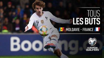 Moldavie - France (1 - 4) : Voir tous les buts du match en vidéo