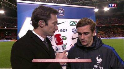 """Pays-Bas 0 - 1 France - Griezmann : """"Je suis content pour Pogba"""""""