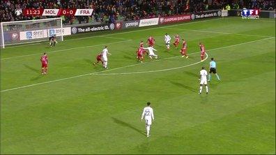 Moldavie - France (0 - 0) : Voir la première frappe de Griezmann en vidéo