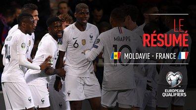 Moldavie - France : Voir le résumé du match en vidéo