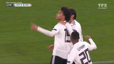 Allemagne - Pays-Bas (2 - 0) : Voir le but de Sané en vidéo