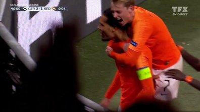 Allemagne - Pays-Bas (2 - 2) : Voir le but de Van Dijk en vidéo