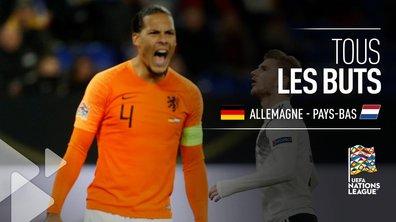 Allemagne - Pays-Bas (2 - 2) : Voir tous les buts du match en vidéo