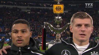 Allemagne - Pays-Bas : Voir l'hymne allemand en vidéo