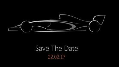 F1 : Force India révèle la silhouette des monoplaces 2017