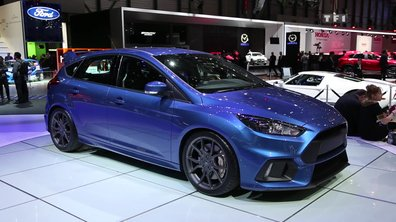 Ford Focus RS, la culture drift au Salon de Genève 2015