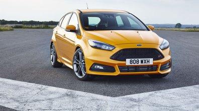 Ford Focus ST 2015 : un nouveau faciès et une version diesel