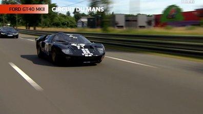 Exclu : Tour de circuit au Mans avec la Ford GT40 MKII !