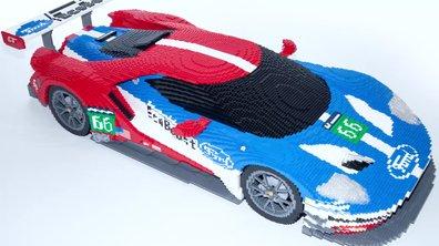 24 Heures du Mans 2016 : les Ford GT et GT40 exposées en Lego !