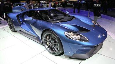 La super-sportive Ford GT à la conquête du Salon de Genève 2015