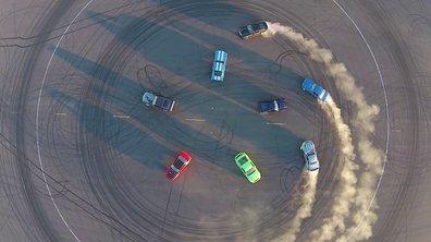 Insolite : Un 50e anniversaire tout en drift pour la Ford Mustang
