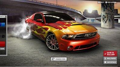 Créez votre Ford Mustang 2010