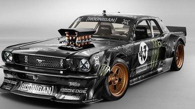 """Gymkhana 7 : Ken Block présente sa Mustang """"Hoonicorn"""" de 845 ch"""