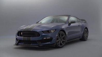 Ford Shelby GT350R Mustang 2015 : présentation officielle en vidéo