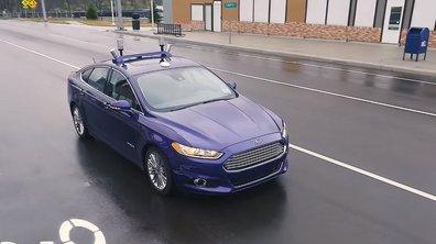 Vidéo : Ford essaie sa voiture autonome dans le simulateur MCity