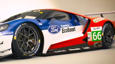 Ford dévoile ses pilotes WEC