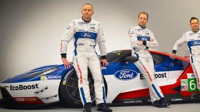 Endurance - WEC : Ford dévoile ses pilotes pour 2016