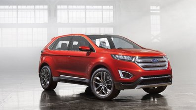 Les premières images du Ford Edge Concept 2013
