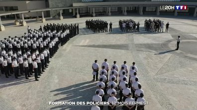 Formation des policiers : rétablie à 12 mois fermes à partir de 2022