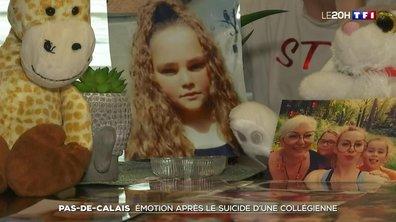 Forte émotion après le suicide d'une collégienne dans le Pas-de-Calais