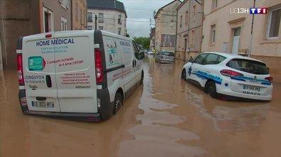 Fortes pluies : la Meurthe-et-Moselle frappée par des inondations