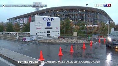 Fortes pluies : précautions maximales sur la Côte d'Azur