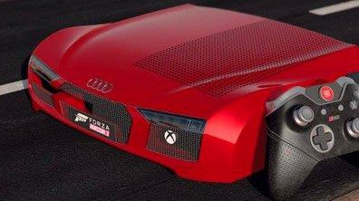 "Insolite : une Xbox One ""Audi R8"" pour la sortie de Forza Horizon 3"