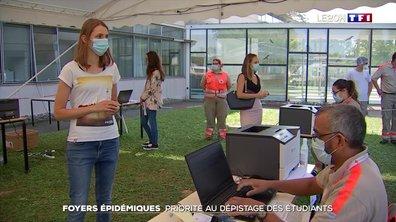 Foyers épidémiques au campus de Strasbourg : priorité au dépistage des étudiants