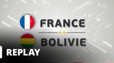 Match amical - France / Bolivie : revoir le match en intégralité