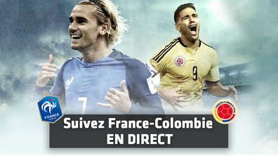 France - Colombie : Suivez le match en direct minute par minute !