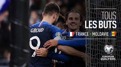 France - Moldavie : Voir tous les buts du match en vidéo
