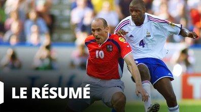 France – République tchèque : le résumé du match de poules (Euro 2000)
