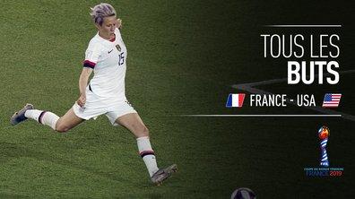 France - USA : Voir tous les buts du match en vidéo