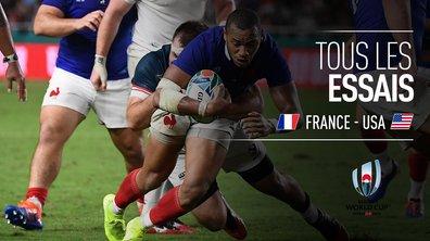 France - USA : Voir tous les essais du match en vidéo