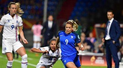 Euro 2017 - France / Islande (1-0) : Délivrées par Le Sommer, les Bleues ont souffert pour leur entrée en lice (VIDEO)