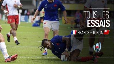 France - Tonga : Voir tous les essais du match en vidéo