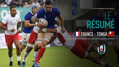 France - Tonga : Voir le résumé du match en vidéo