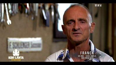Qui est Franck, nouvel aventurier de l'émission ?