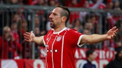 Franck Ribéry prolonge d'un an avec le Bayern