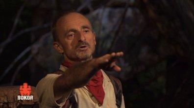 Franck, premier rouge éliminé, règle ses comptes au conseil